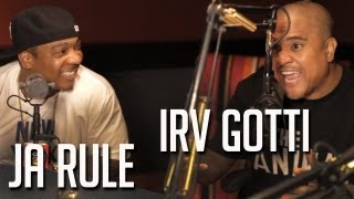 "Irv Gotti says ""Murder Inc Made you"" & Ja Rule expresses being angry at fans PT2"