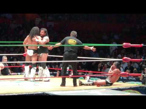 Lucha Libre in Mexico City at the Arena Mexico