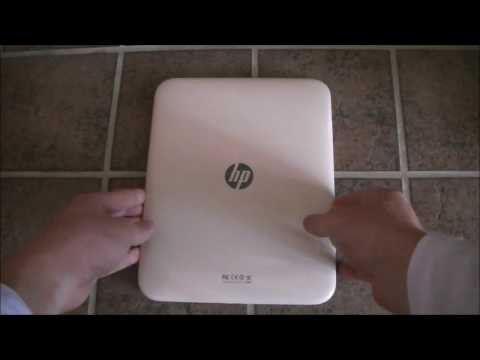 White 64GB HP TouchPad Unboxing