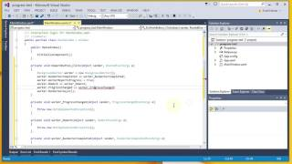 How to Use the Progress Bar in WPF for Long Running Tasks