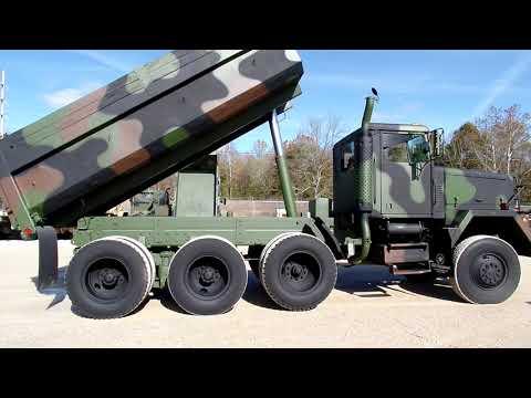 M917 Military 8x6 dump truck CLEAN LOW MILES C&C Equipment