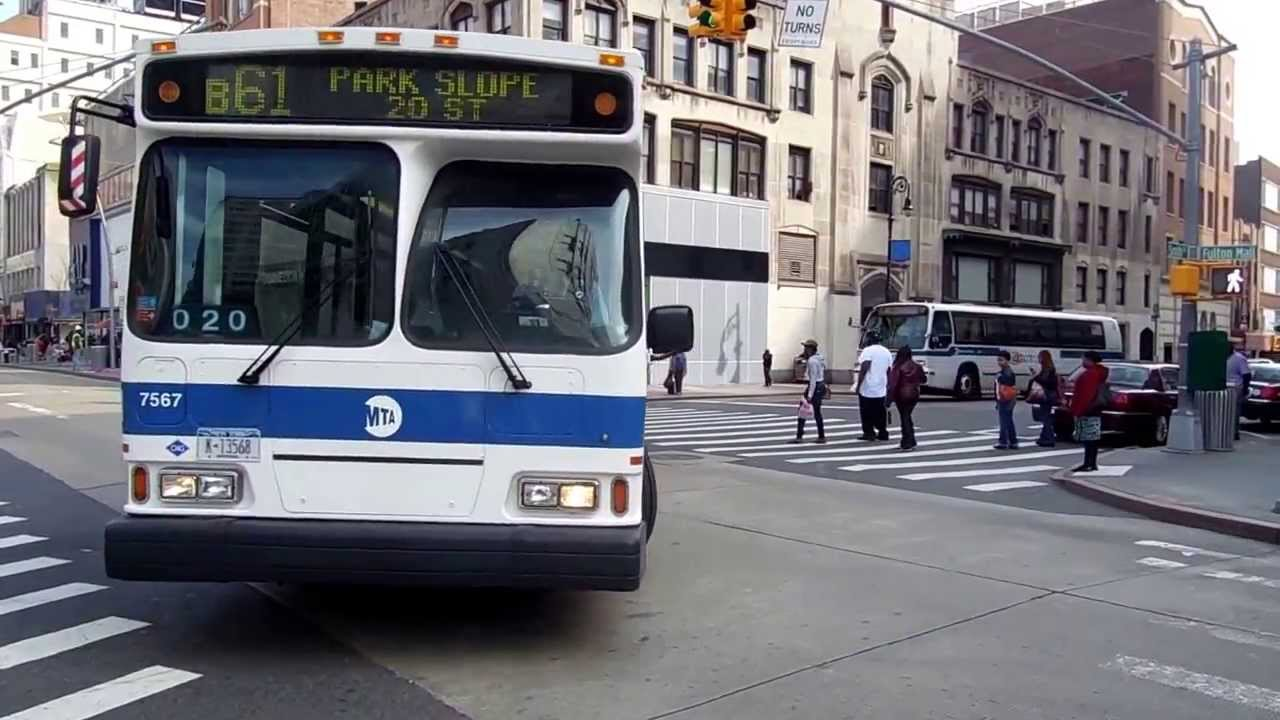 Mta New York City Bus Orion Vii Cng 7567 On The B61