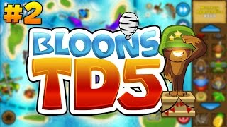 Bloons Tower Defense 5: Odyssey Mode on Easy #2