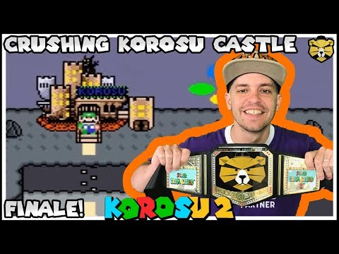 Beating The King Of The Castle! Korosu World 2 Finale!