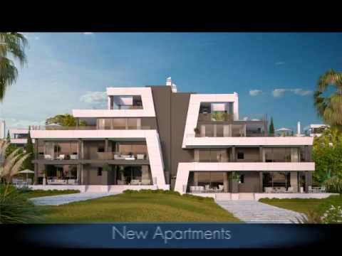 Selection of apartments for sale in Marbella, Spain