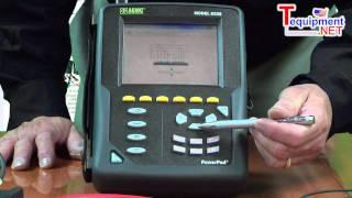 aemc 8335 powerpad three phase power quality analyzer