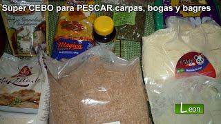 Super CEBO picante para PESCAR carpas, bogas y bagres ..