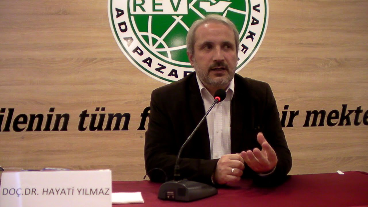 Doç. Dr. Hayati Yılmaz (24 Kasım 2017) Cuma Ribat konferans