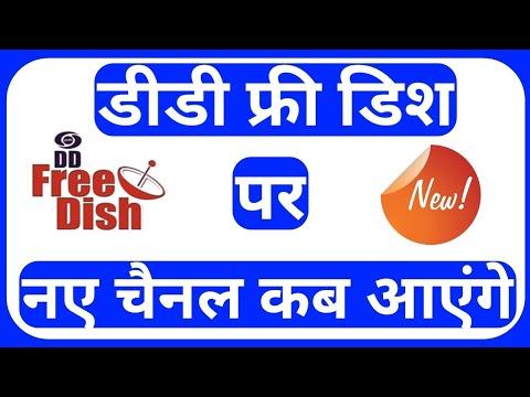 New channel on dd free dish