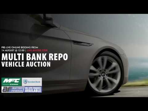 Multi Bank Repo Vehicle Auction Youtube