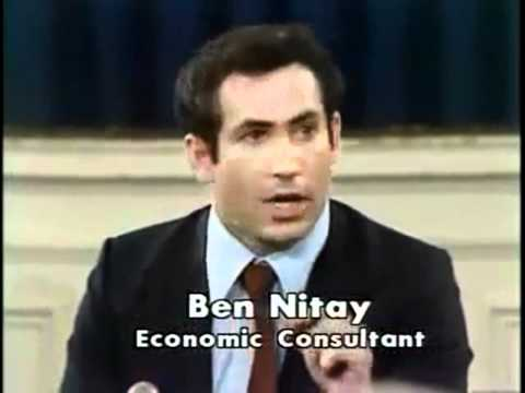 Young Benjamin Netanyahu (Debate on Israeli Borders)   (Israel Live Com)