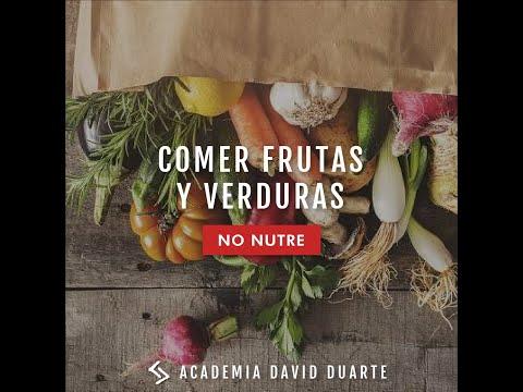 #DavidDuarteContigo Frutas y verduras NO NUTREN