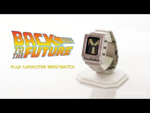 Back to the Future Flux Capacitor Wristwatch from ThinkGeek