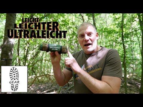 """Ultralight-Hängematte """"Adventure Hammock"""" von Amazonas"""