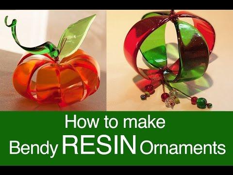 Bendy Resin Ornaments  by little-windows.com