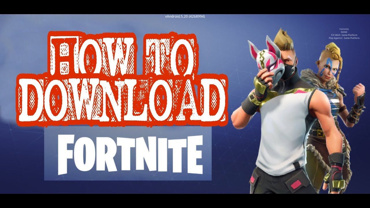HOW TO DOWNLOAD FORTNITE ON ANDROID (SAMSUNG GALAXY NOTE 8 ...