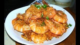 避风塘虾-虾的这种做法非常好吃,非常简单易学,非常值得一试 Shelter shrimp-家庭厨房菜谱