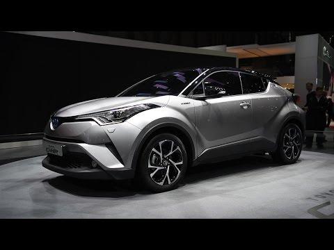 2017 Toyota C-HR First Look - 2016 Geneva Motor Show