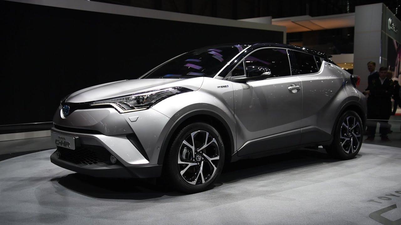 2017 Toyota C Hr First Look 2016 Geneva Motor Show Youtube