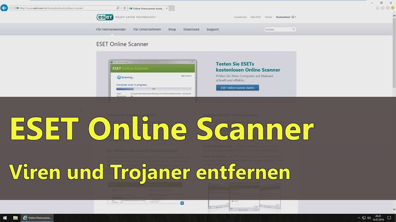 Trojaner Scanner Online