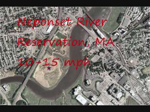 Aerial Tour of the Neponset River Reservation, MA
