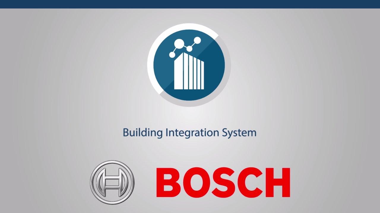 bosch security logo. bosch security - building integration system solution logo