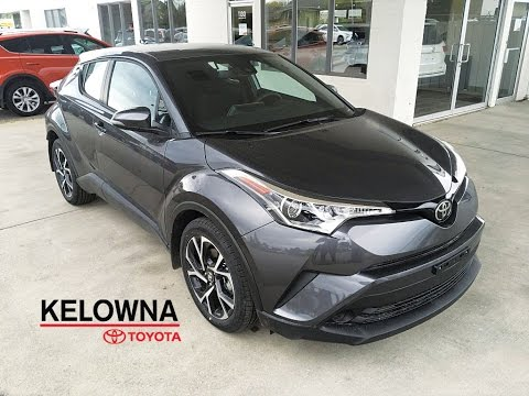 2018 Toyota C-HR XLE Magnetic Grey Metallic