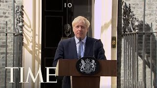New U.K. Prime Minister Boris Johnson Vows To Leave The E.U. On Oct. 31 No Matter What | TIME