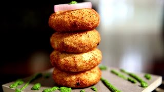 Rice Cutlets Recipe | Cutlets With Leftover Rice Filling | Ruchi's Kitchen