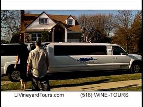 Long Island Vineyard Tours - Long Island Wine Tours.wmv