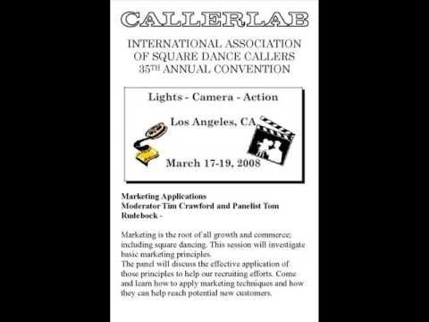 2008 CALLERLAB Conv Marketing - Applications