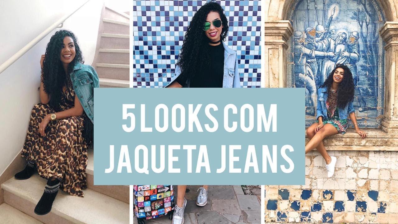 COMO USAR JAQUETA JEANS - 5 ideias de looks para vocês - | KEILA GROTTO