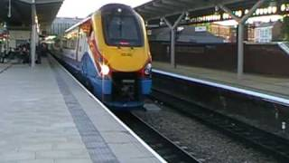 Class 222 Departs Derby With A Sweet 2 Tone Horn