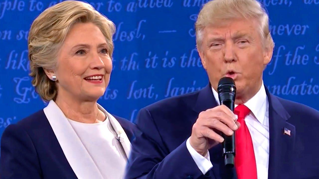 Donald Trump's MELTDOWN: 2nd Debate Highlights - YouTube
