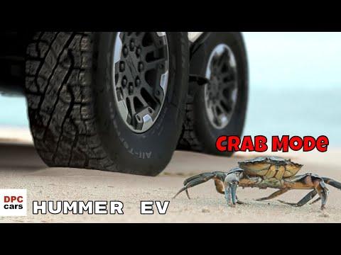 Electric GMC Hummer EV Crab Mode
