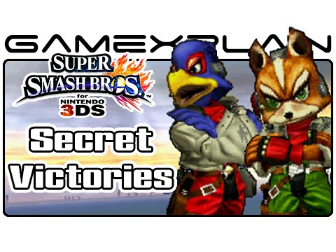 Smash Bros. 3DS: Secret Personalized Victory Screens