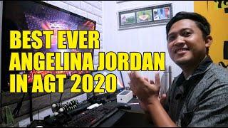 Video Reaction Angelina Jordan Sings Elton John's