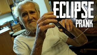 GOING BLIND DURING THE ECLIPSE!!