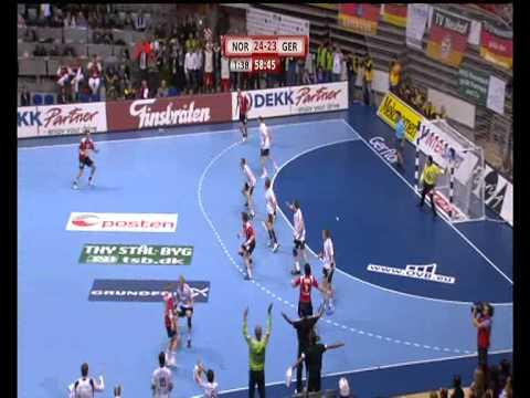 Norge slår Tyskland i håndball-VM 2009