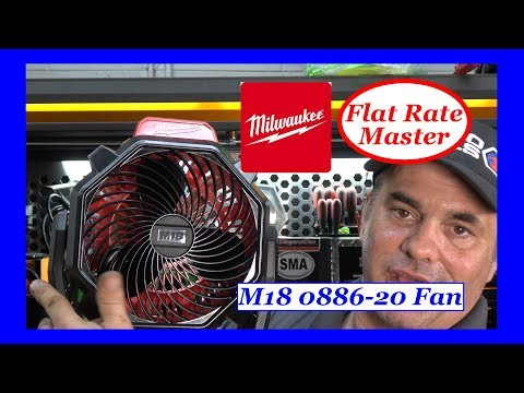 Milwaukee M18 Jobsite Fan 0886-20