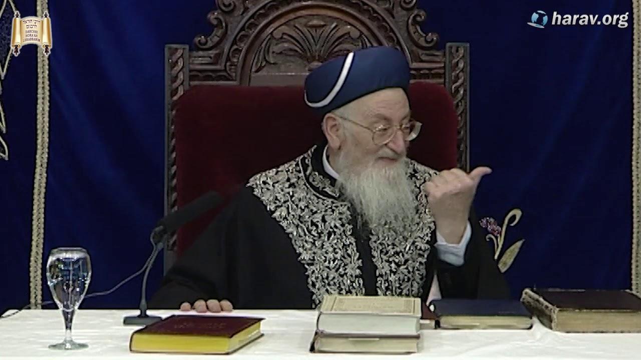 """הרידב""""ז והבן איש חי - סיפור מעלתם מאת הרב מרדכי אליהו"""