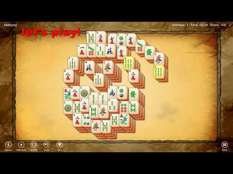 MahJong Free ! Has Been Updated With New Game Layouts!