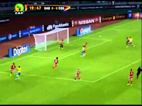 Felipe Ovono [Equatorial Guinea goalkeeper] His best saves · CAN 2015