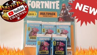 NEW FORTNITE TRADING CARDS 2019 MEGA PACK OPENING!!!!