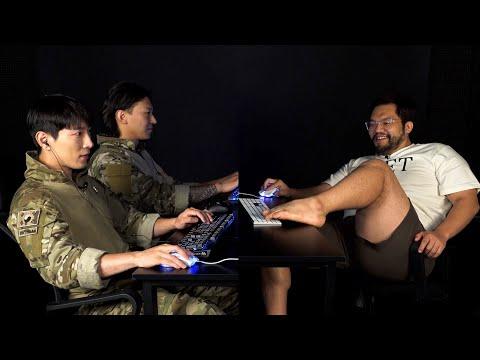 홍구 vs UDT 자존심 대결ㅣ 발스타로 가짜사나이 교관 참교육..? 스타크래프트 헌터 2:1 초보만..