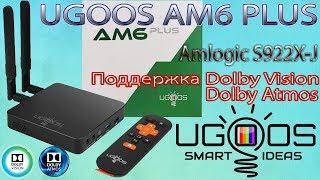 Новинка TV Box UGOOS AM6 PLUS с сертификацией Dolby Vision и Dolby Atmos на процессоре S922X-J Обзор