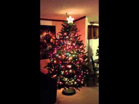 My Christmas Tree Light Show