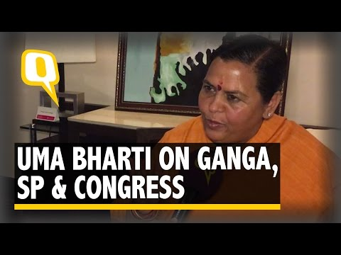 The Quint: Barkha Dutt Speaks to Uma Bharti on UP Polls