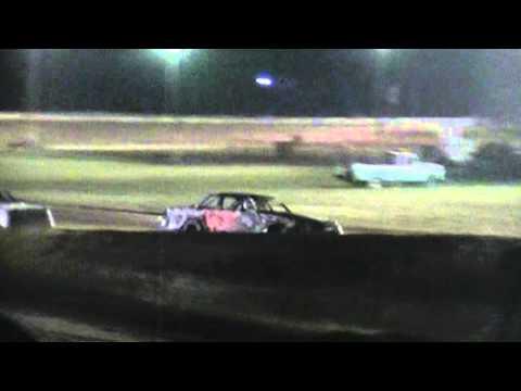 Jeremy Oliver 281 Speedway Wreck 9-26-15