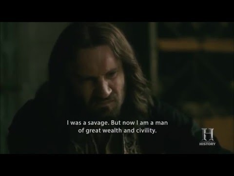 Vikings - Rollo's first French lesson (HD)